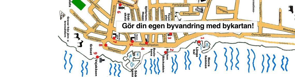 Byvandring med bykartan