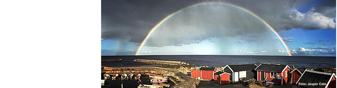 Regnbåge över Brantevik